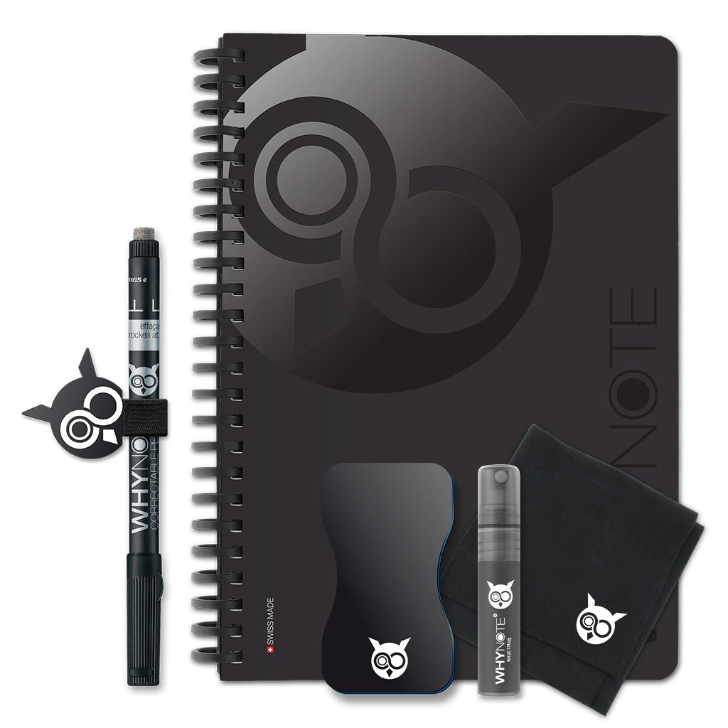 WhyNote BOOK - A5 - Black