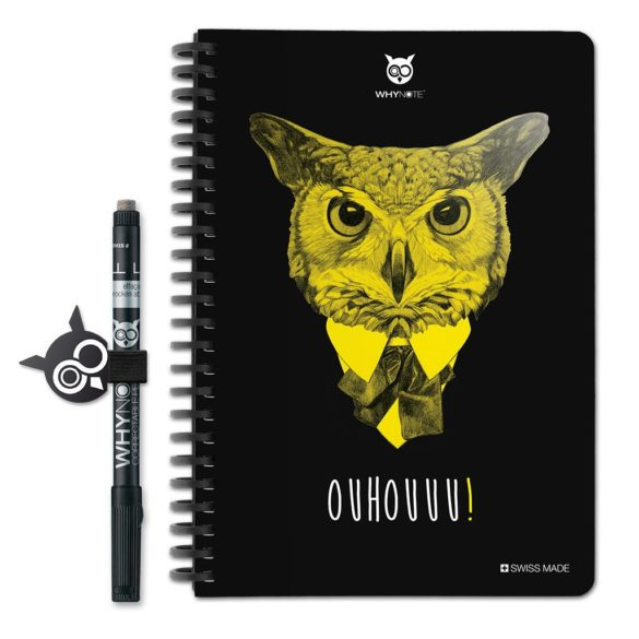 WhyNote BOOK – A5 – Hibou