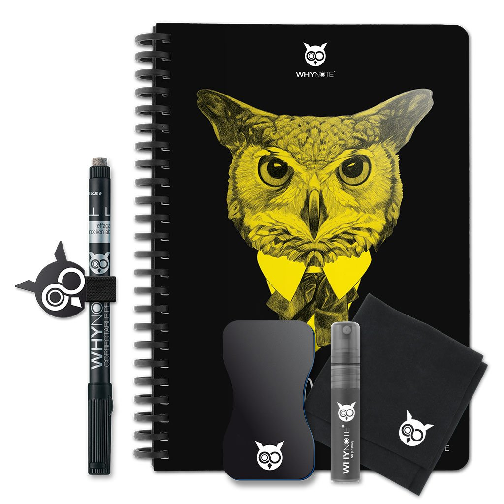 WhyNote BOOK - A5 - Hibou