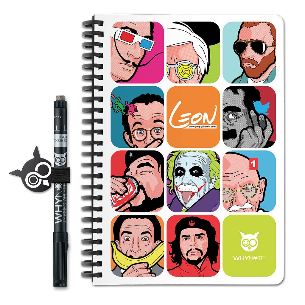 WhyNote BOOK - A5 - Patchwork