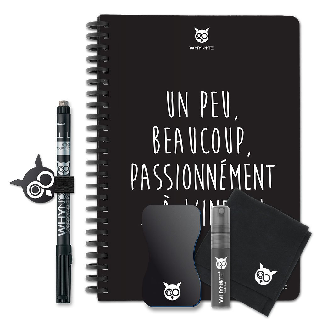 WhyNote BOOK - A5 - Un peu, beaucoup...