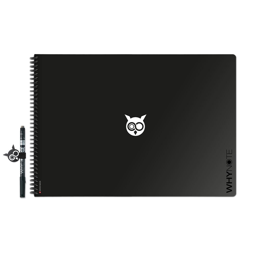 WhyNote BOOK - A3 - Noir
