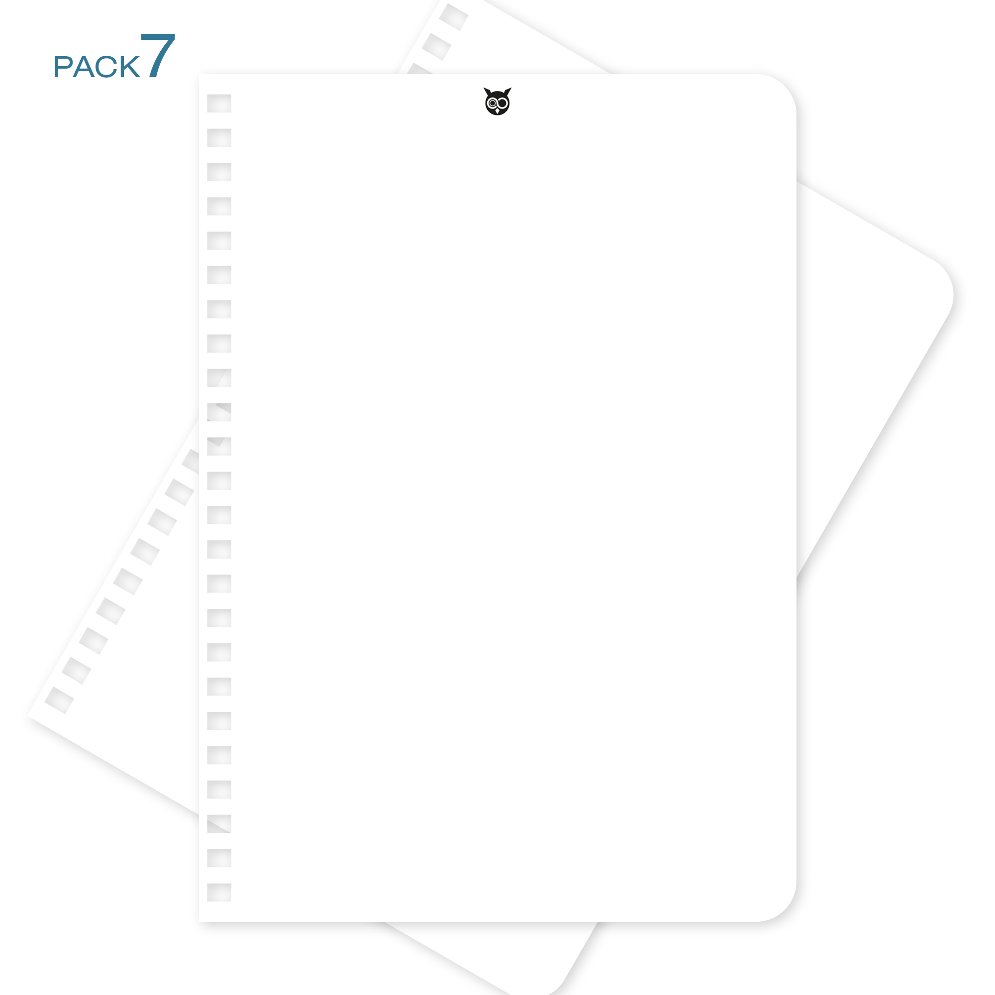 Recharges-A5-pack-7 - Whynote Book Agenda Planner